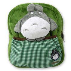 $ + China ---- Child cartoon style backpack totoro plush three dimensional green pattern on Aliexpress.com | Alibaba Group