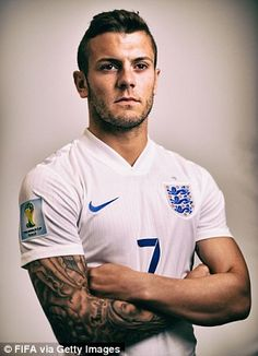 Jack Wilshere's injury-hit season has dropped him down a few places