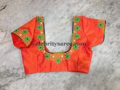 Simple Work Blouses for Silk Sarees | Saree Blouse Patterns