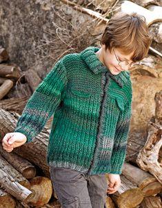 Revista Niños 67 Otoño / Invierno | 20: Niños Chaqueta | Verde