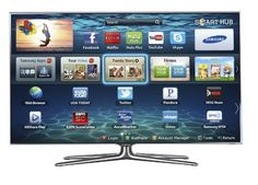 Samsung UN55ES7100 55-Inch 1080p 240Hz 3D Slim LED HDTV (Silver)-$1,797.99 you save 36%-This web-enabled LED Smart TV, with full HD 1080p, offers a gateway to a world of entertainment, social networking, multitasking, and more. Connect to your favorite digital content from Netflix, Hulu Plus, YouTube, Pandora, Facebook, and Twitter. This Series 7 Samsung TV pushes the limits of both design and performance.