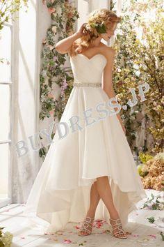 ウェディングドレス _二次会ドレス W7304 - Aライン - ウェディングドレス - ドレス 通販BuyDress.jp