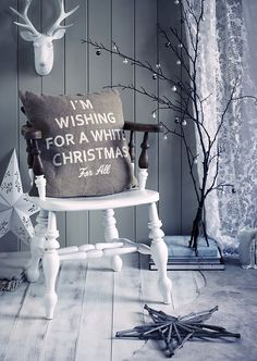 silvery gray christmas .. X ღɱɧღ ||
