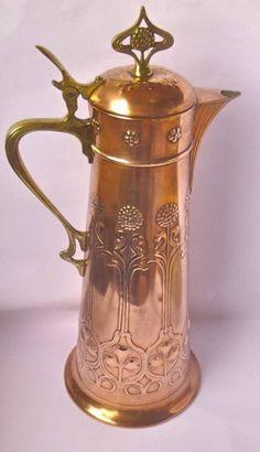 Fabulous WMF Jugendstil Art Nouveau Jug Pitcher