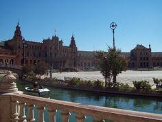 Sevilla tiene un color especial. Plaza de España.7