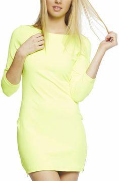 82cf4be8dd Arden B Basic Long-Sleeve Mini Dress on shopstyle.com