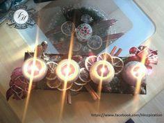 Weihnachten 2011 - Adventsständer Rustikal