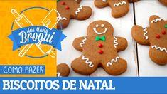 COMO FAZER BISCOITOS DE NATAL (GINGERBREAD) | Ana Maria Brogui #2