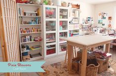 Mesa central, mesa de costura y mesa para ordenador