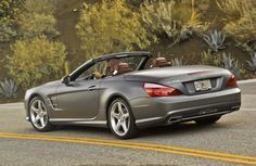 The Mercedes-Benz SL-Class.  For more information, visit: http://mbenz.us/jMQjqZ