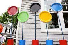 olympic birthday, olymp parti, birthday parties, school parties, paper plates