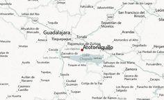 Guadalajara Map Tourist Attractions Guadalajara Jalisco area