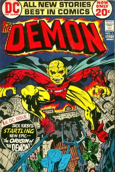 The Demon #1, September 1972 - Jack Kirby & Mike Royer