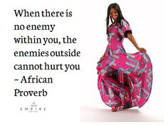 """African Proverb - """"When there is no enemy. African Quotes, African Proverb, Heart Of Jesus, African Culture, Sacred Heart, Martial Arts, Black Women, Symbols, Queen"""