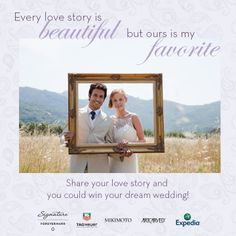 Share your love story and you could win a $100,000 Wedding of the Century! Enter today:  http://apps.facebook.com/weddingofthecentury/contests/330642