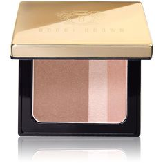 Bobbi Brown Women's Pink Truffle Brightening Blush found on Polyvore featuring beauty products, makeup, cheek makeup, blush, no color, bobbi brown cosmetics and blush brush