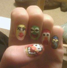 Muppett nails! Nail Care, My Nails, Nail Manicure, Nail Repair