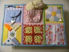 Fidget quilts for Alzheimer patients Great tute on making these