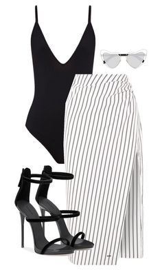 """Untitled #124"" by sofiaosousa on Polyvore featuring Off-White and Yves Saint Laurent"