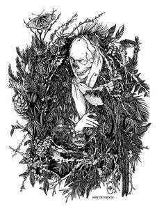 Image of Wreath art print