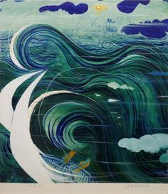 Brett Whiteley Stanner's dream 1974