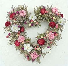 "22"" Celebration Heart Wreath"