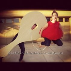 cutest couple paddle ball costume - Bar Of Soap Halloween Costume