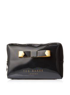 Ted Baker Women's Montone Wash Bag, Black at MYHABIT