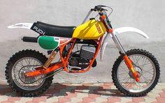 Enduro Vintage, Vintage Motocross, Vintage Bikes, Vintage Motorcycles, Enduro Motocross, Motocross Racing, Racing Motorcycles, Mx Bikes, Cycling Bikes