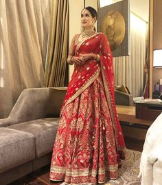 Yourweddingexpert On Instagram Sagarikaghatge In A Beautiful Anitadongre Lehenga Love Always Indian Wedding Outfitsbridal