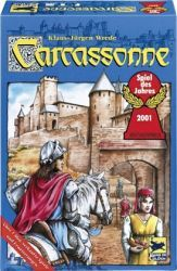 Schmidt Spiele - Carcassonne - Spiel des Jahres 2001
