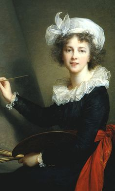 """Happy birthday to Elisabeth Louise Vigée Le Brun, one of the finest French painters and among the most important of all women artist. ""Vigée Le Brun: Woman Artist in Revolutionary France,"" Women In History, Art History, Women Artist, Female Artist, Jean Antoine Watteau, Female Painters, Classic Paintings, Romantic Paintings, Elisabeth"