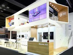"""""""That booth could be my house   @operabrowser at #MWC #FlashbackSunday"""" by @merav_oliva_barzilai."""