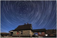 Chatka Puchatka #mountains #astro #photography #bieszczady