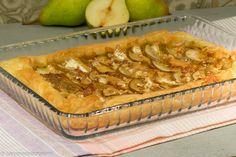 Quiche pere e Camembert, ricetta facile