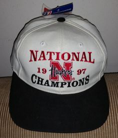 Nebraska Cornhuskers Snapback Hat Baseball Cap 1997 Football National Champions!  GO BIG RED!!!