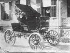 """1898 Grout Gasoline Stanhope"""
