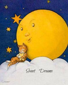 cat and full moon illustration by bernhard oberdieck moon art, Sun Moon Stars, Sun And Stars, Cover Art, Graffiti Kunst, Good Night Moon, Moon Magic, Beautiful Moon, Moon Art, Moon Child