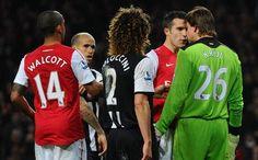 Van Persie vs Krul; Arsenal vs Newcastle 2012