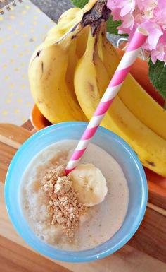 Post Workout PB2 & Banana Protein Smoothie!