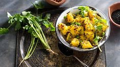 Spicy potato salad   Nepalese recipes   SBS Food