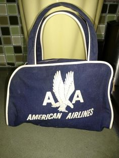 AMERICAN AIRLINES AA First Class Amenities Travel Bag 7