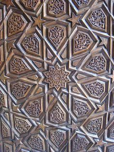 Bursa Islamic Art Carving Joinery Sculptures