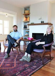 Kathleen & Bradford's Heritage of Harmony Home — House Tour | Apartment Therapy