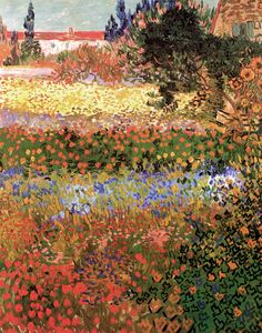 Vincent Van Gogh Paintings, Flowering Garden