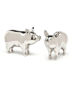 Take a look at this Pig Salt & Pepper Shakers by Godinger on #zulily today!