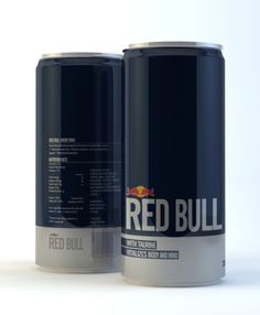 Awesome Red Bull redesign concept