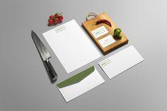 Restaurant Logo Design // #branding #logo #alfacharlie #design