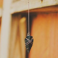 Arrow head necklace(: