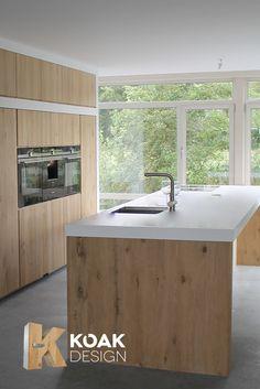 Good Koak Design Kitchen, Ikea Hack Kitchen Cabinets With Real Massif European  Oak Doors Create 100